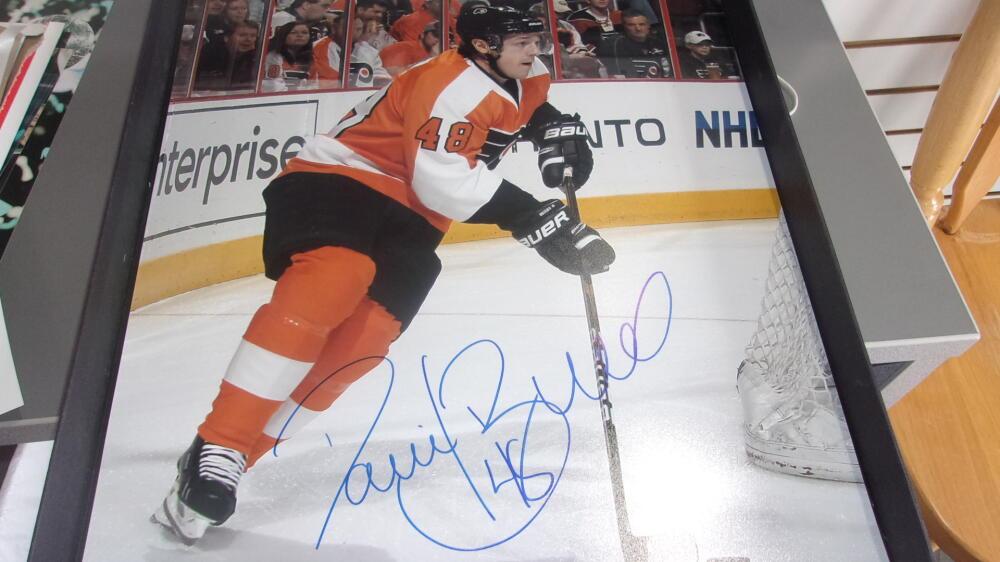Daniel Briere Philadelphia Flyers signed 16x20 Photo COA
