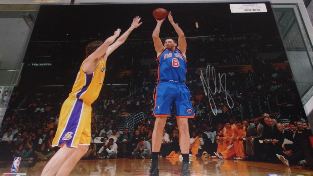 Danilo Gallinari New York Knicks signed 16x20   photo COA Fanatics