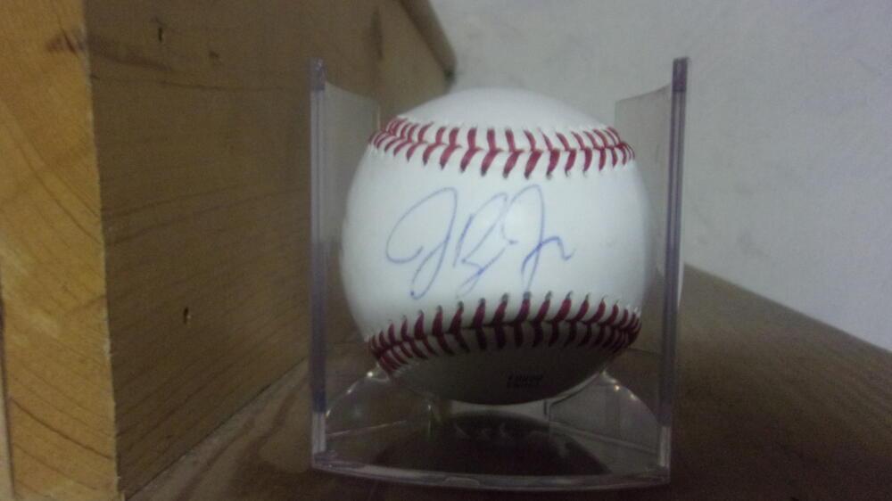Jackie Bradley Jr Boston Red Sox Signed OLB Baseball COA