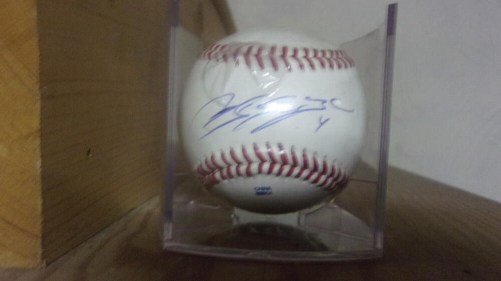 Andres Blanco Philadelphia Phillies signed OLB Baseball COA