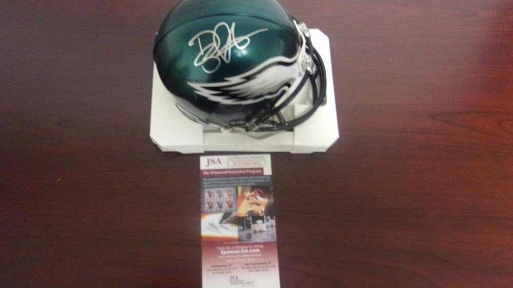 Doug Pederson Philadelphia Eagles  Signed  Mini Helmet JSA