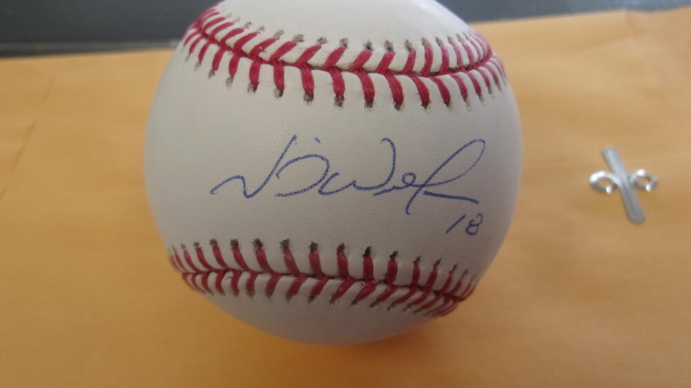 Neil Walker Pittsburgh Pirates/Mets/Yankees/Phillies Signed MLB Baseball COA