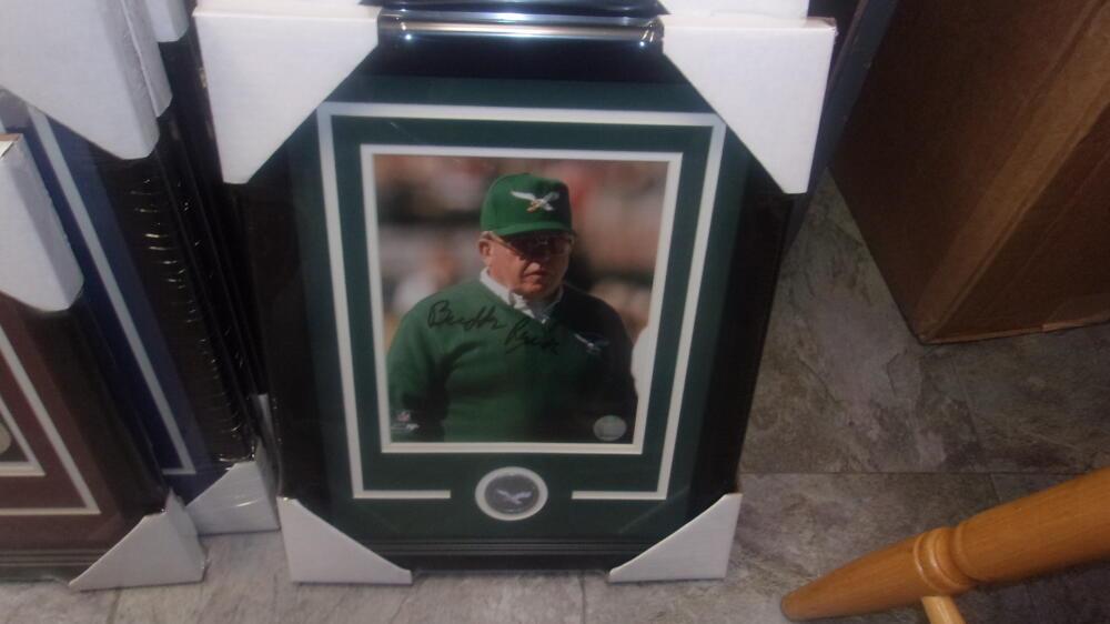 Buddy Ryan Philadelphia Eagles Signed 8x10 Framed Photo COA
