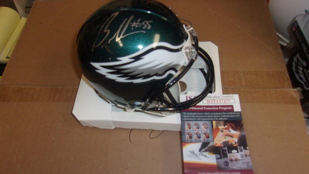 Brandon Graham Philadelphia Eagles  Signed  Mini Helmet JSA