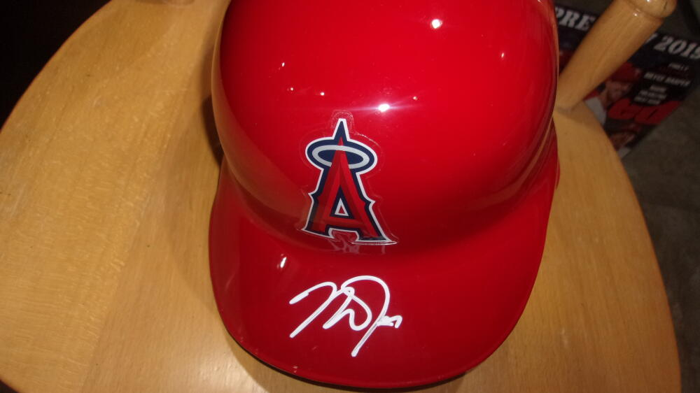 Mike Trout Los Angeles Angels Signed Full Size Official Batting Helmet MLB Auth