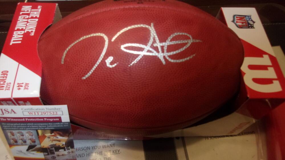 Jalen Hurts Philadelphia Eagles Signed NFL Official Football JSA