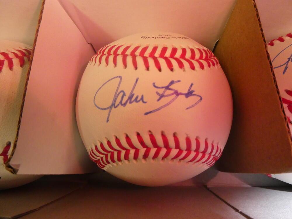 John Kruk Philadelphia Phillies/Padres Signed OLB Baseball COA