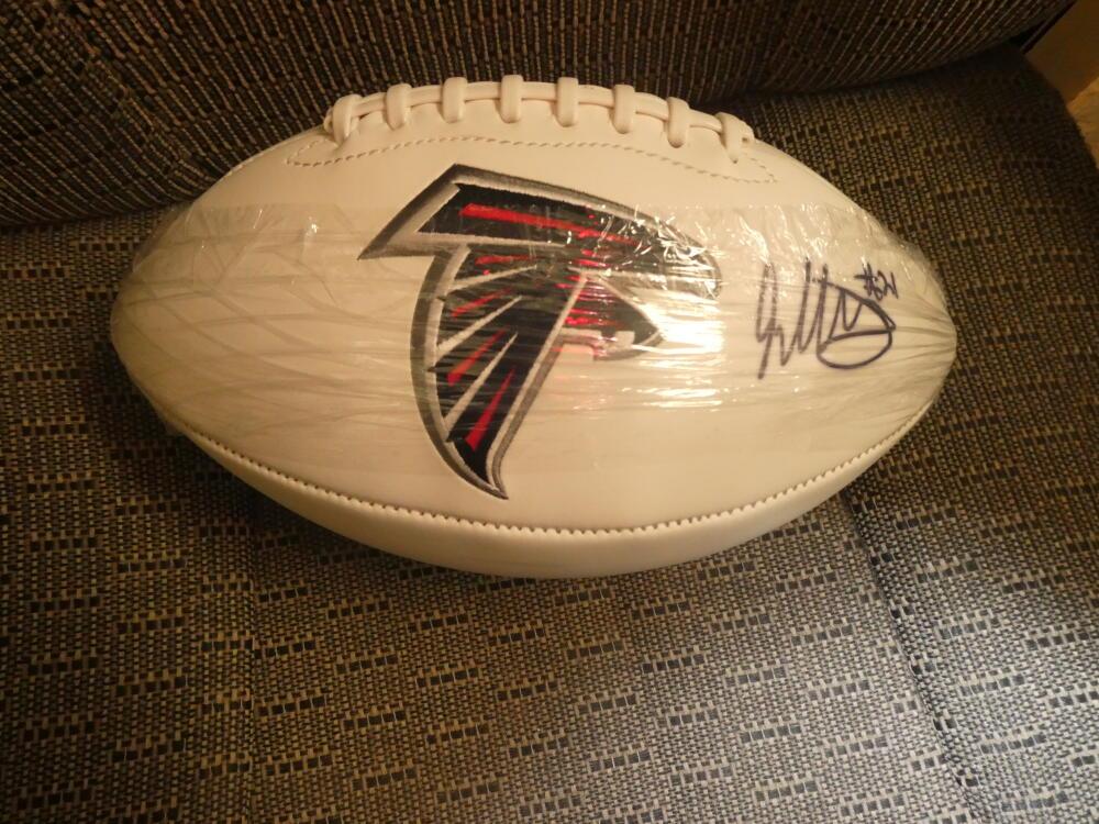 Todd Gurley Atlanta Falcons Signed Logo Football COA Fanatics
