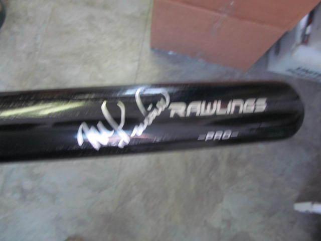 Mike Lieberthal Philadelphia Phillies Signed FS Rawlings Bat COA