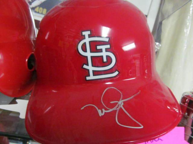 Mark McGwire St Louis Cardinals Signed Authentic Batting Helmet COA