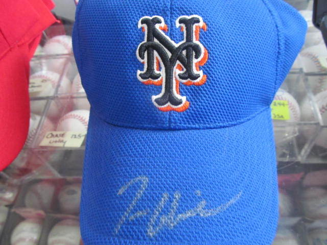 Tom Glavine New York Mets Signed Flex Fit Hat COA