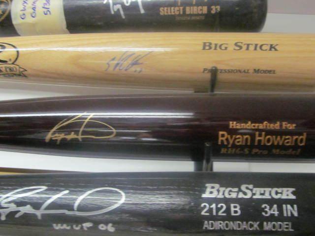 Ryan Howard Philadelphia Phillies Signed Marucci Game Model Bat MLB Authenticate