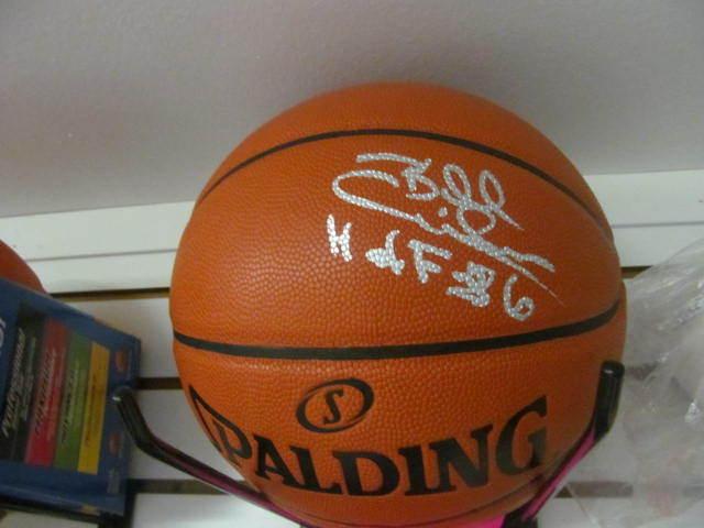 Billy Cunningham Philadelphia 76ers  Signed FS NBA Replica Basketball COA