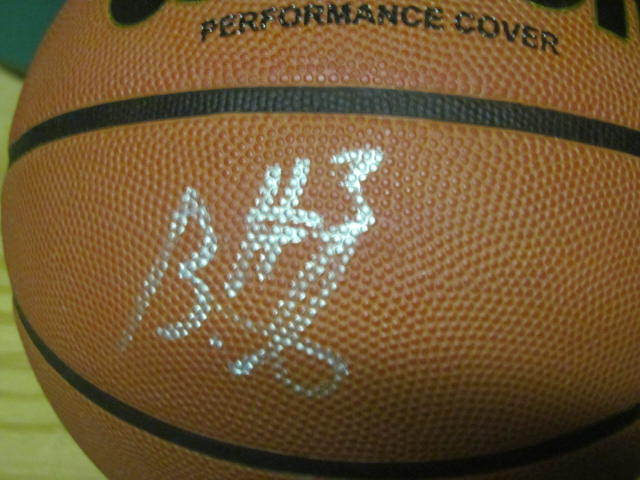 Brandon Jennings Bucks/Pistons Signed FS Basketball COA