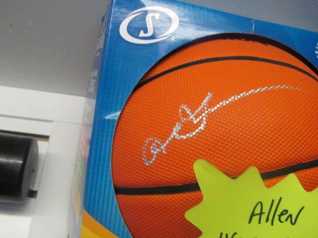 Allen Iverson Philadephia 76ers Signed FS Basketball COA