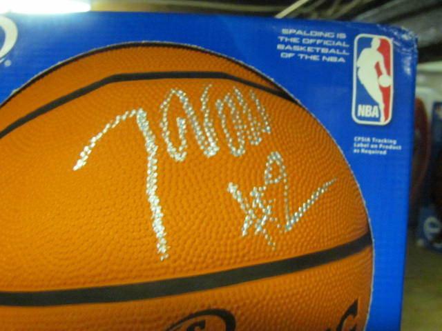 John Wall Washington Wizards  Signed FS Basketball COA