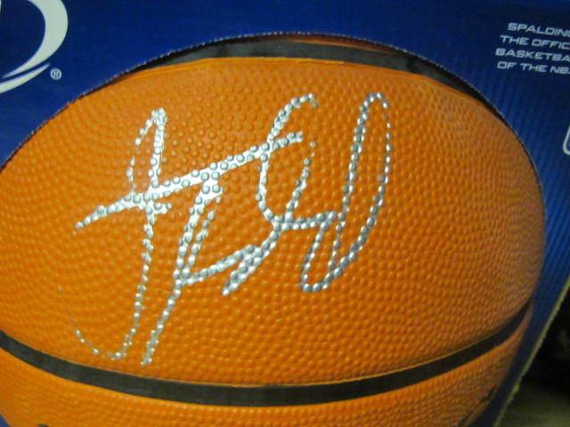 Jason Kidd New Jersey Nets Signed FS Basketball COA