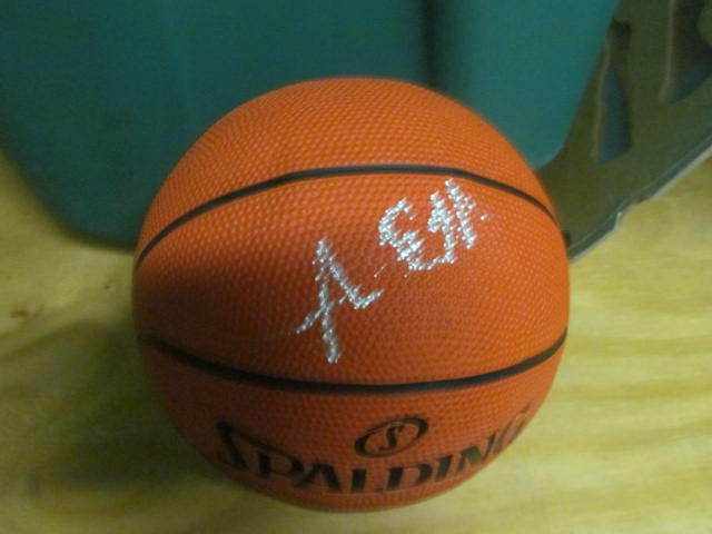 Anthony Bennett Cleveland Cavs Signed MIni Basketball COA