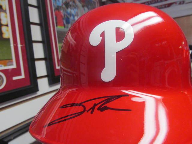 Jim Thome Philadelphia Phillies Signed Official Batting Helmet COA