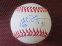 Milt Thompson Philadelphia Phillies/Braves/Cardinals Signed OLB Baseball COA