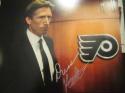 Dave Hakstol Philadelphia Flyers  signed 8x10 Photo COA