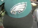 Philadelphia Eagles Green New Era Fitted Hat NEW Size 7