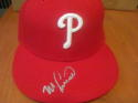 Mike Lieberthal  Philadelphia Phillies Signed Fitted Hat COA