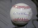 Matt Stairs Philadelphia Phillies Signed MLB Baseball COA