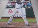 Ryan McBroom New York Yankees Signed 8x10 Photo COA
