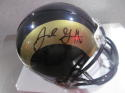 Jared Goff Los Angeles Rams Signed mini helmet Fanatics COA