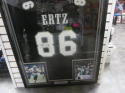 Zach Ertz Philadelphia Eagles Signed Replica Jersey COA FRAMED