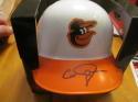 Caleb Joseph Baltimore Orioles Signed Thowback Mini Helmet COA