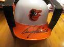Boog Powell Baltimore Orioles Signed Thowback Mini Helmet COA