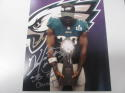 Kenjon Barner Philadelphia Eagles Signed 8x10Superbowl LII Photo COA Inscription