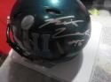 Rick Lovato Philadelphia Eagles Signed Mini Helmet COA SB Champs mini