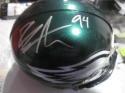 Beau Allen  Philadelphia Eagles Signed  mini Helmet COA