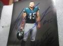 Rick Lovato  Philadelphia Eagles Signed 8x10  Photo COA Inscription