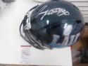 Corey Clement  Philadelphia Eagles  Signed Full Size Replica Superbowl Helmet JSA