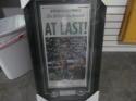 Philadelphia Eagles Framed Superbowl Champion Inquirer Newspaper 11x20
