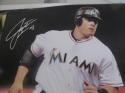 Justin Bour Miami Marlins Signed 8x10 Photo COA  4