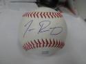 Tanner Rainey Cincinnati Reds signed OLB Baseball COA