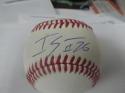 Raisel Iglesias Cincinnati Reds signed OLB Baseball COA