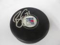 Brady Skjei New York Rangers Signed  logo Puck COA