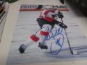 Danny Briere Philadelphia Flyers Signed 8x10 Photo COA 3