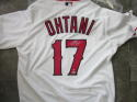 Shohei Ohtani  Los Angeles Angels Signed Home Jersey MLB Authenticated/Steiner