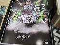 Brent Celek Philadelphia Eagles Signed  16x20 Superbowl Collage Photo JSA