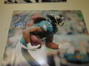 Marcus Johnson Philadelphia Eagles Signed 8x10 Photo COA 3