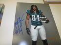 Marcus Johnson Philadelphia Eagles Signed 8x10 Photo COA 4