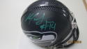 Marcus Johnson Seattle Seahawks Signed Mini Helmet COA