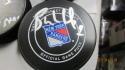 Bernie Nicholls New York Rangers Signed official Puck COA